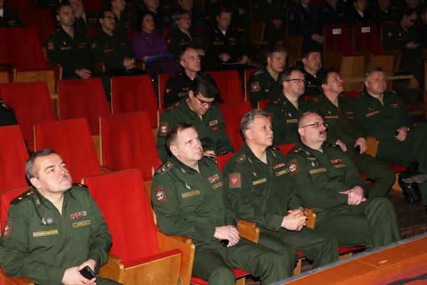 Сбор с руководящим составом медицинской службы Вооруженных Сил Российской Федерации