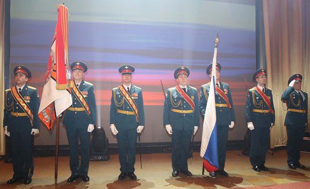 В клубе Военно-медицинской академии имени С.М. Кирова прошло торжественное мероприятие, посвященное Дню защитника Отечества