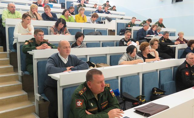 На базе Военно-медицинской академии прошли сборы начальников медицинских пунктов довузовских образовательных организаций Министерства обороны