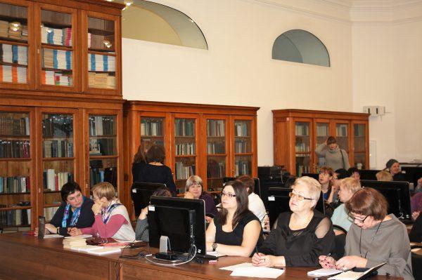 В Фундаментальной библиотеке Военно-медицинской академии прошла дискуссия о состоянии военных библиотек Министерства обороны.
