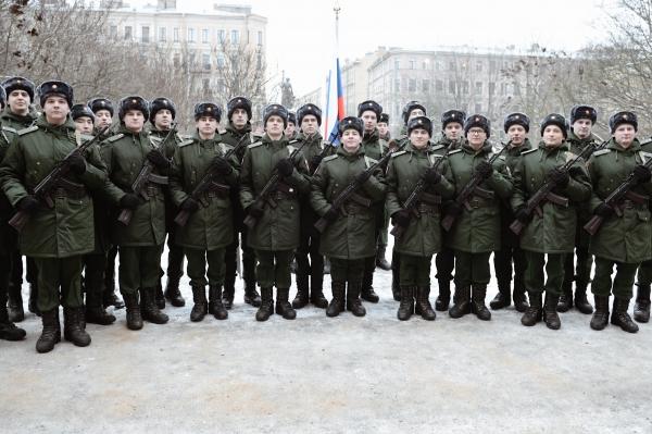 В Военно-медицинской академии приняли присягу военнослужащие научной роты