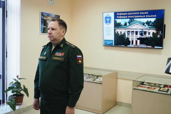 Военно-медицинская академия отчиталась на Едином дне приемки