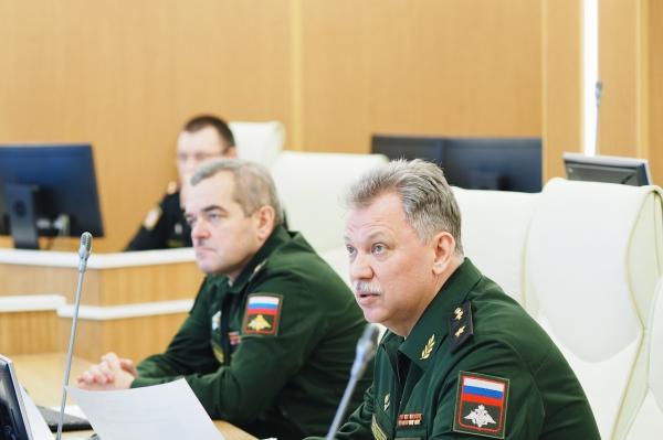 Заместитель начальника Главного Военно-медицинского управления провел рабочий день в Военно-медицинской академии