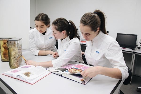Девушки в академии