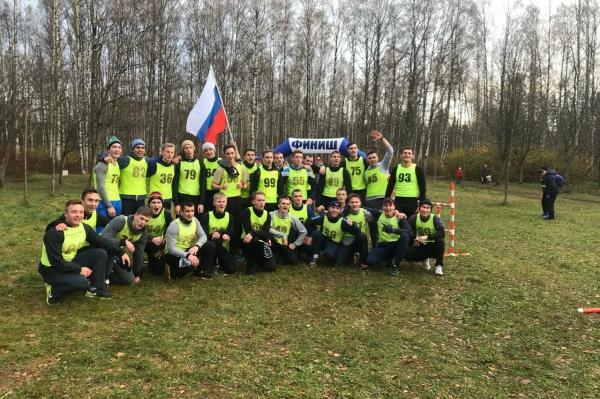 Команда Военно-медицинской академии приняла участие в спортивном празднике, посвященном «Дню народного единства»