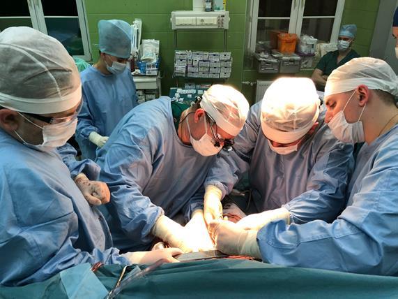 В клинике Военно-медицинской академии имени С.М.Кирова выполнена очередная ортотопическая трансплантация печени