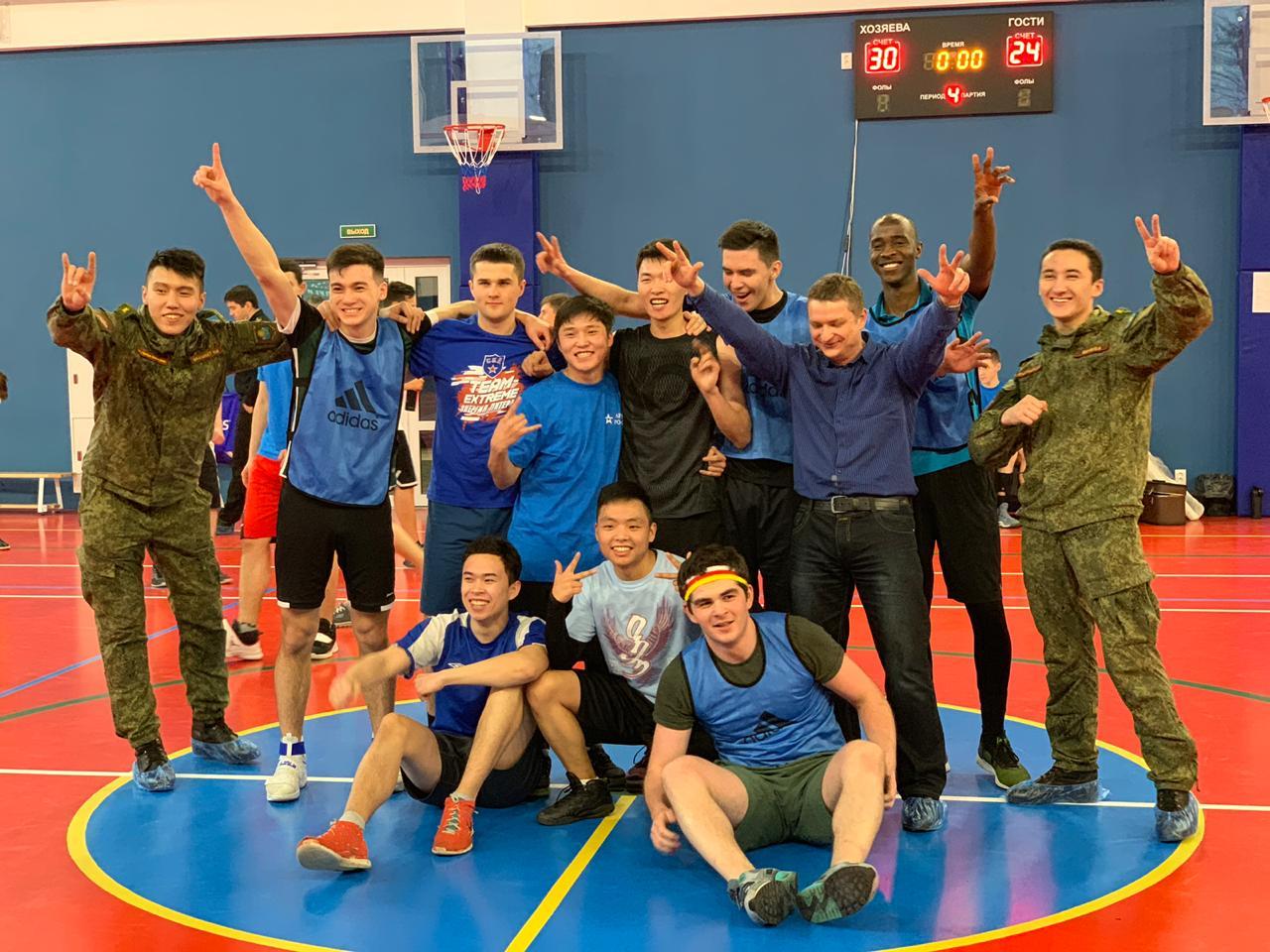 8686cdff В Военно-медицинской академии впервые за долгое время состоялось первенство  академии по баскетболу