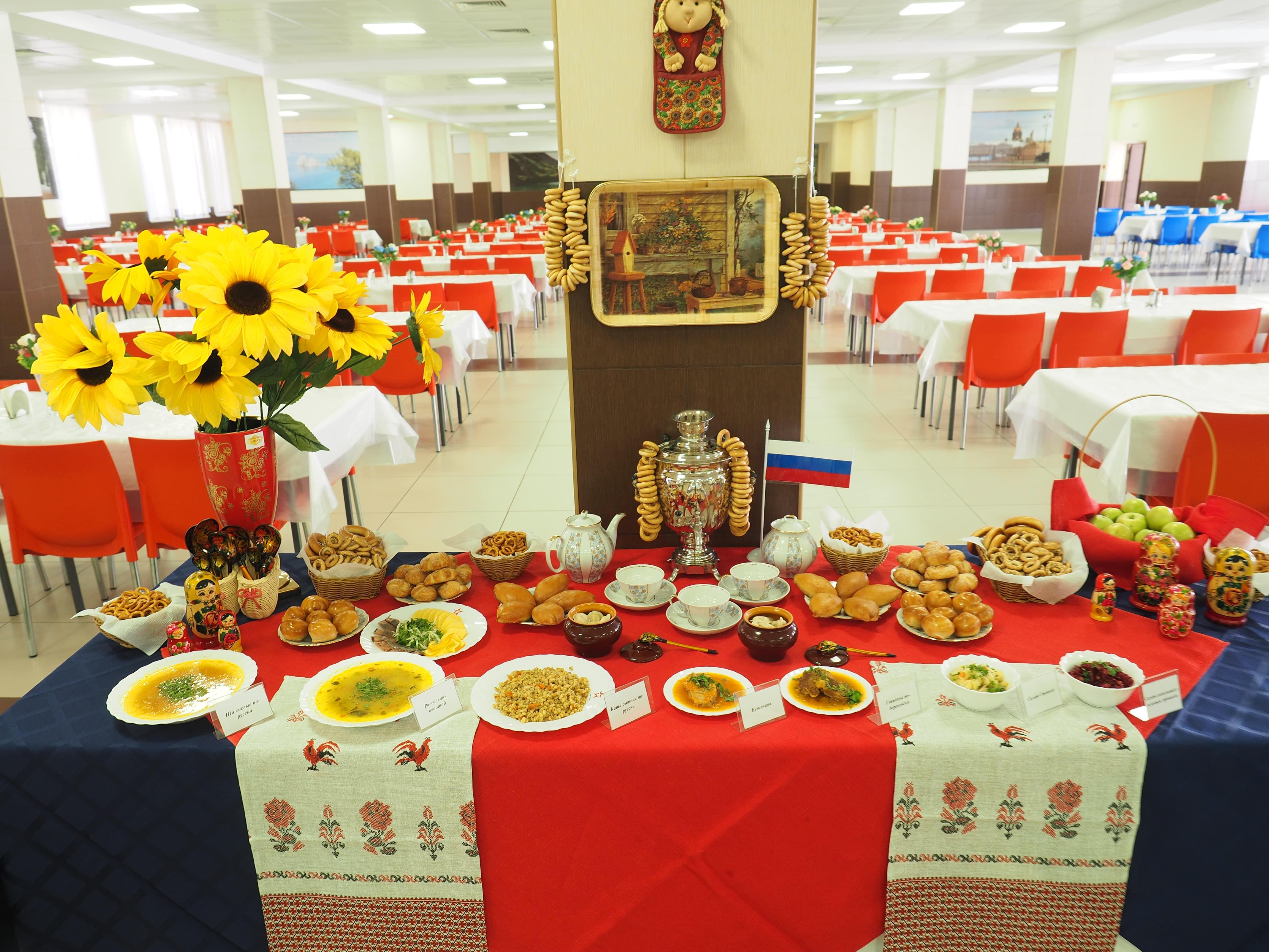 В курсантской столовой Военно-медицинской академии прошёл «День Русской кухни»