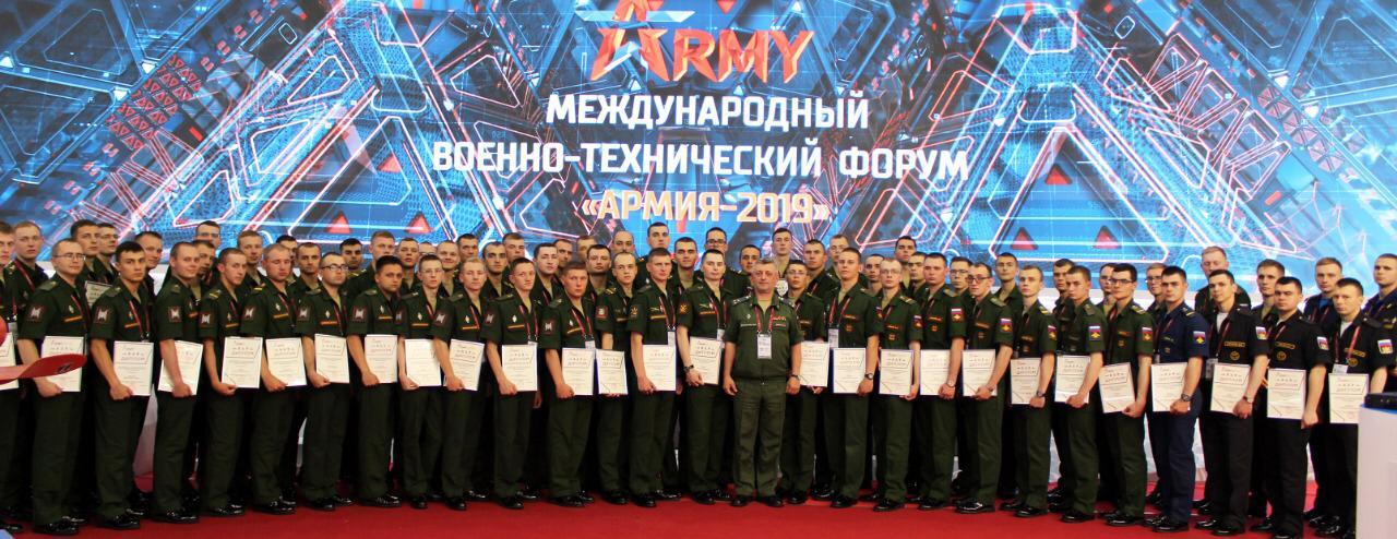 Научная рота Военно-медицинской академии продолжает получать награды на форуме «Армия-2019»