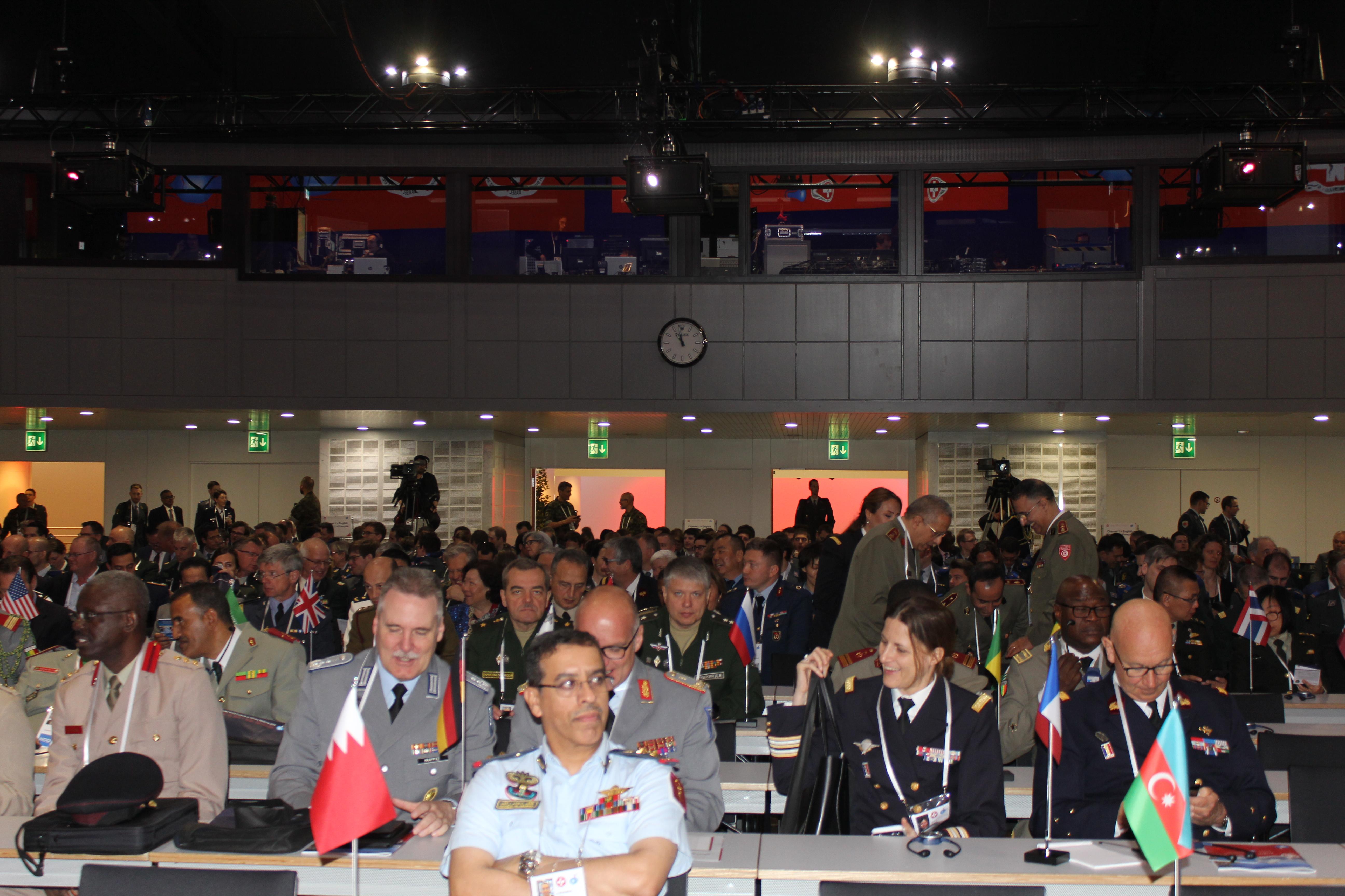 Военно-медицинская академия  на всемирном конгрессе по военной медицине