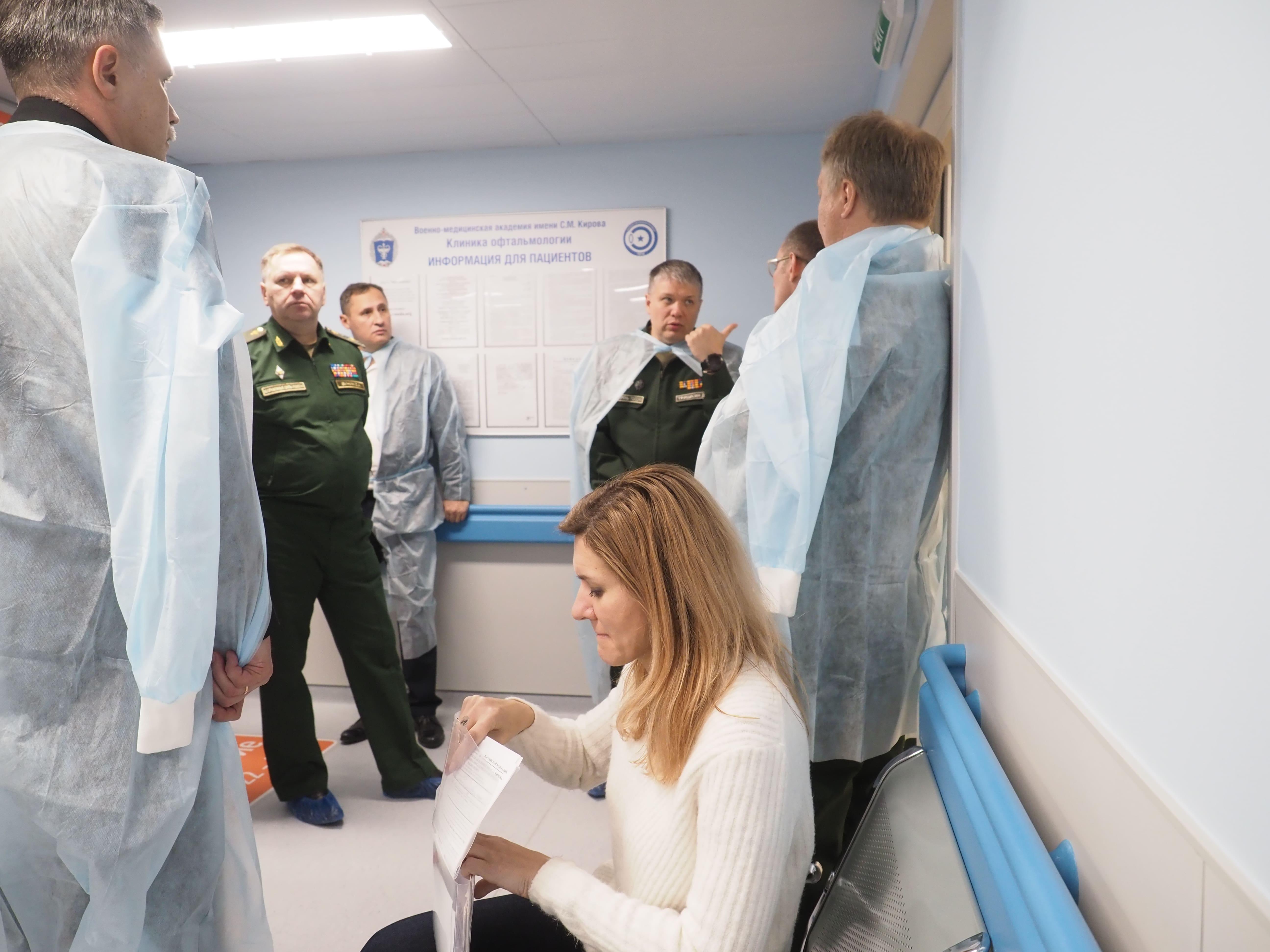 Начальник Главного военно-медицинского управления проверил готовые и реконструируемые объекты Военно-медицинской академии