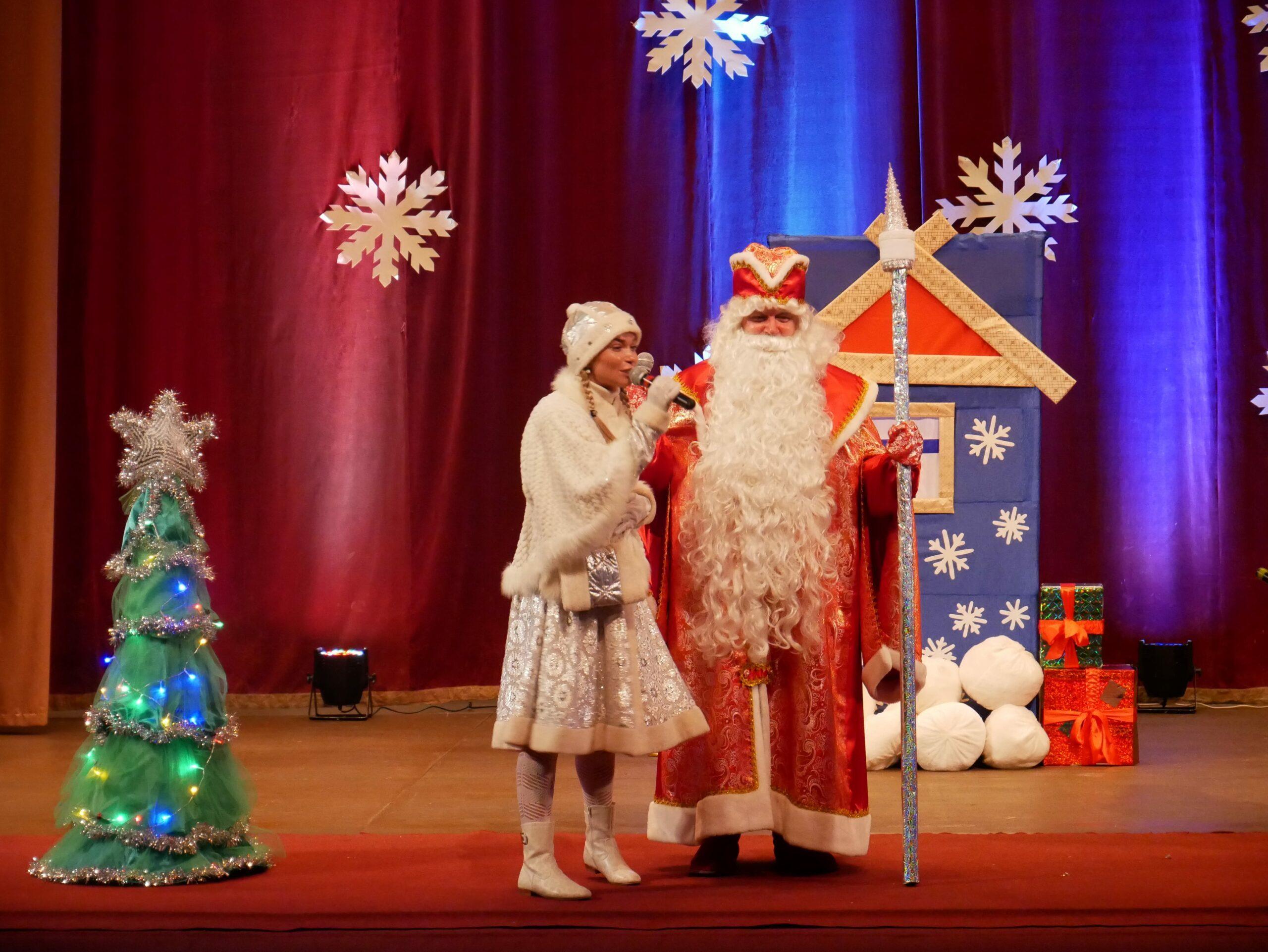 Детское Новогоднее представление в Военно-медицинской академии