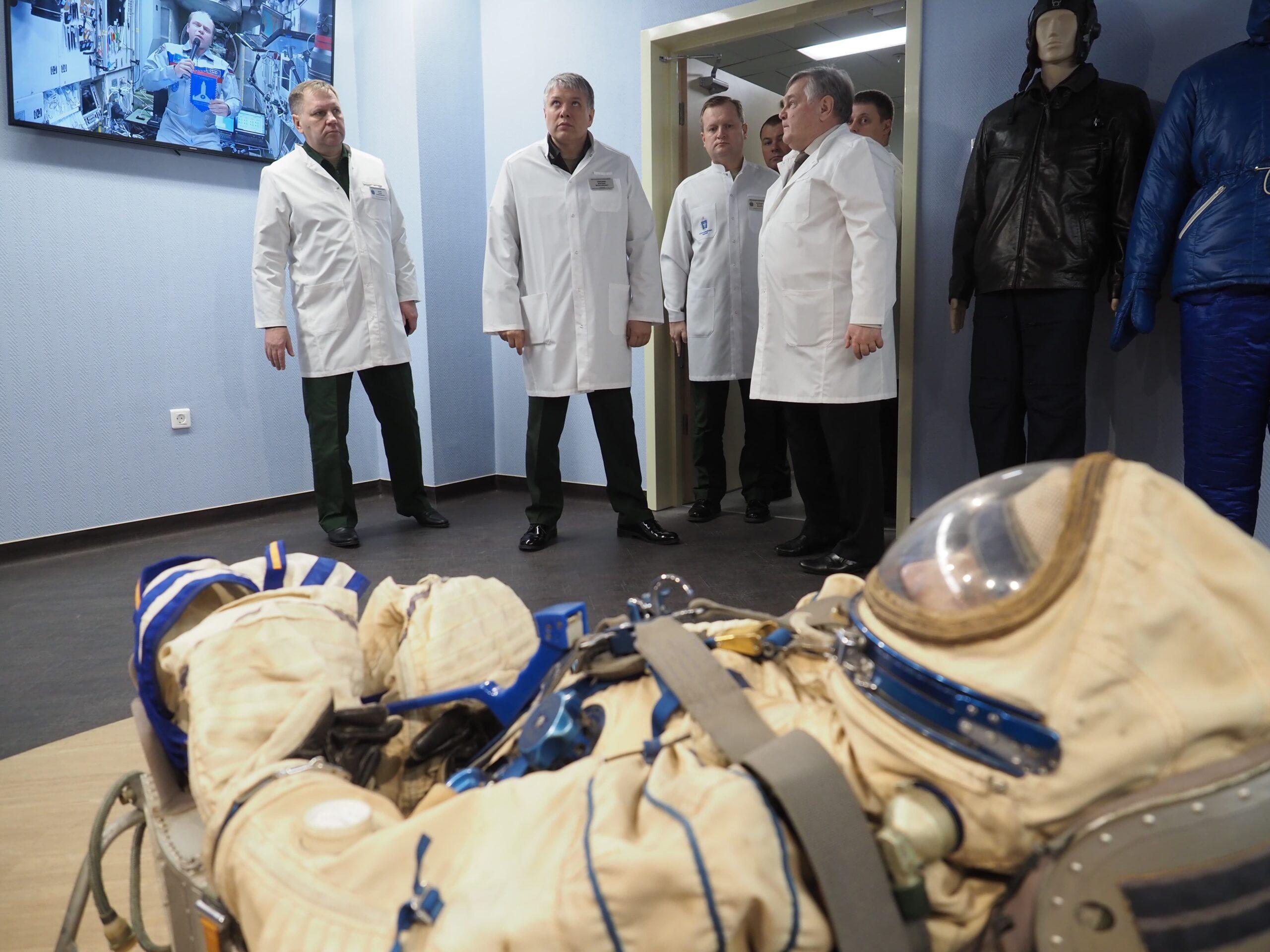 Начальник Главного военно-медицинского управления проинспектировал работы по реконструкции здания кафедры и клиники нервных болезней