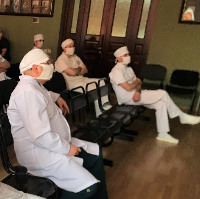 Специалисты Военно-медицинской академии приняли участие в  онлайн-конференции посвященной вопросам работы травматологической службы в условиях пандемии