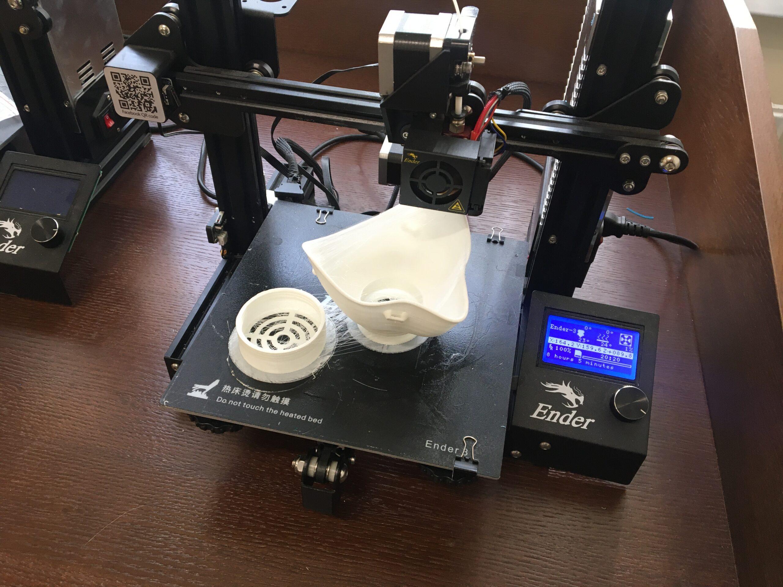 В Военно-медицинской академии разработана медицинская 3D-маска для защиты органов дыхания. Видео