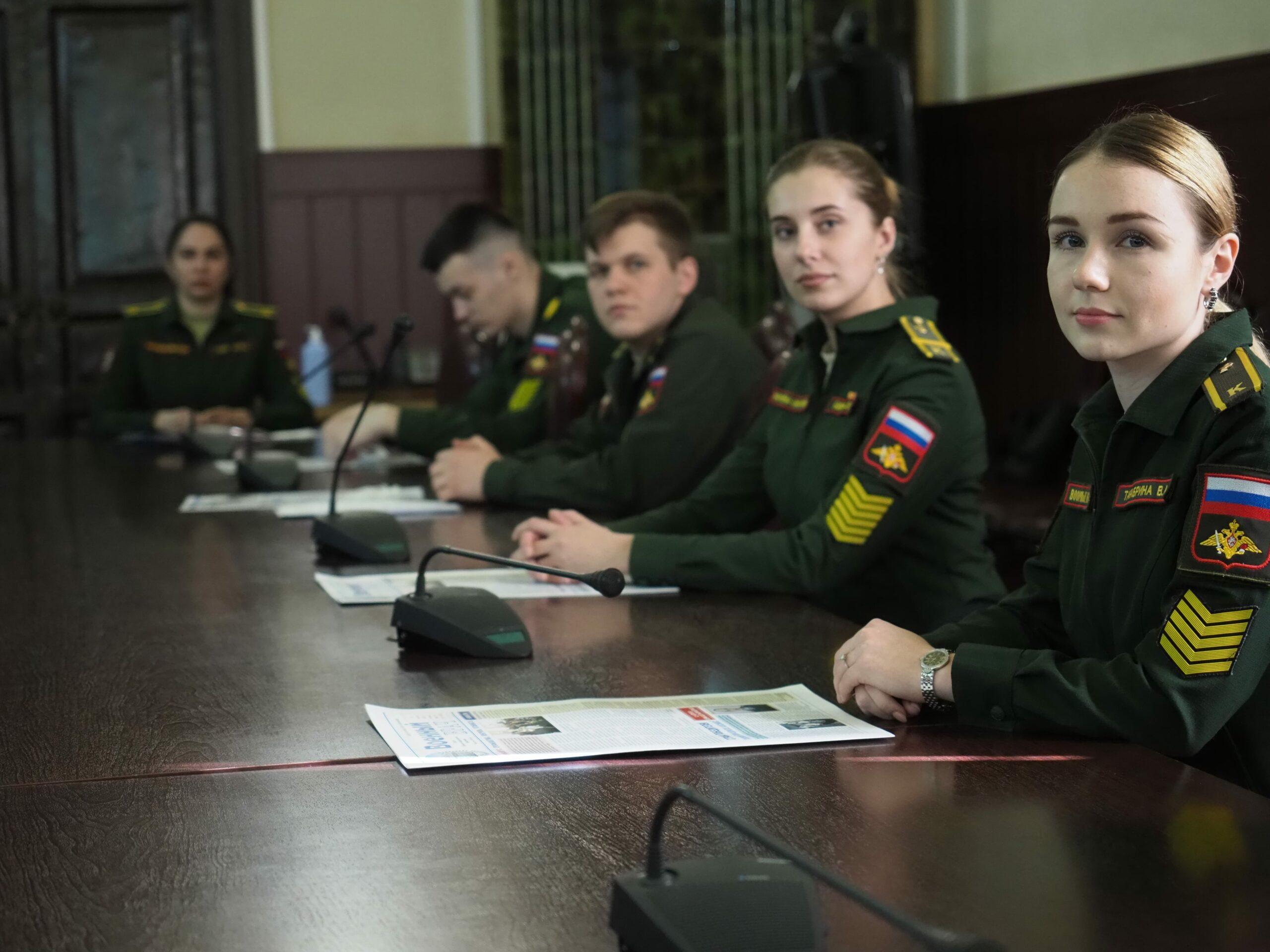 В Военно-медицинской академии подведены итоги работы Военно-научного общества курсантов, студентов и слушателей
