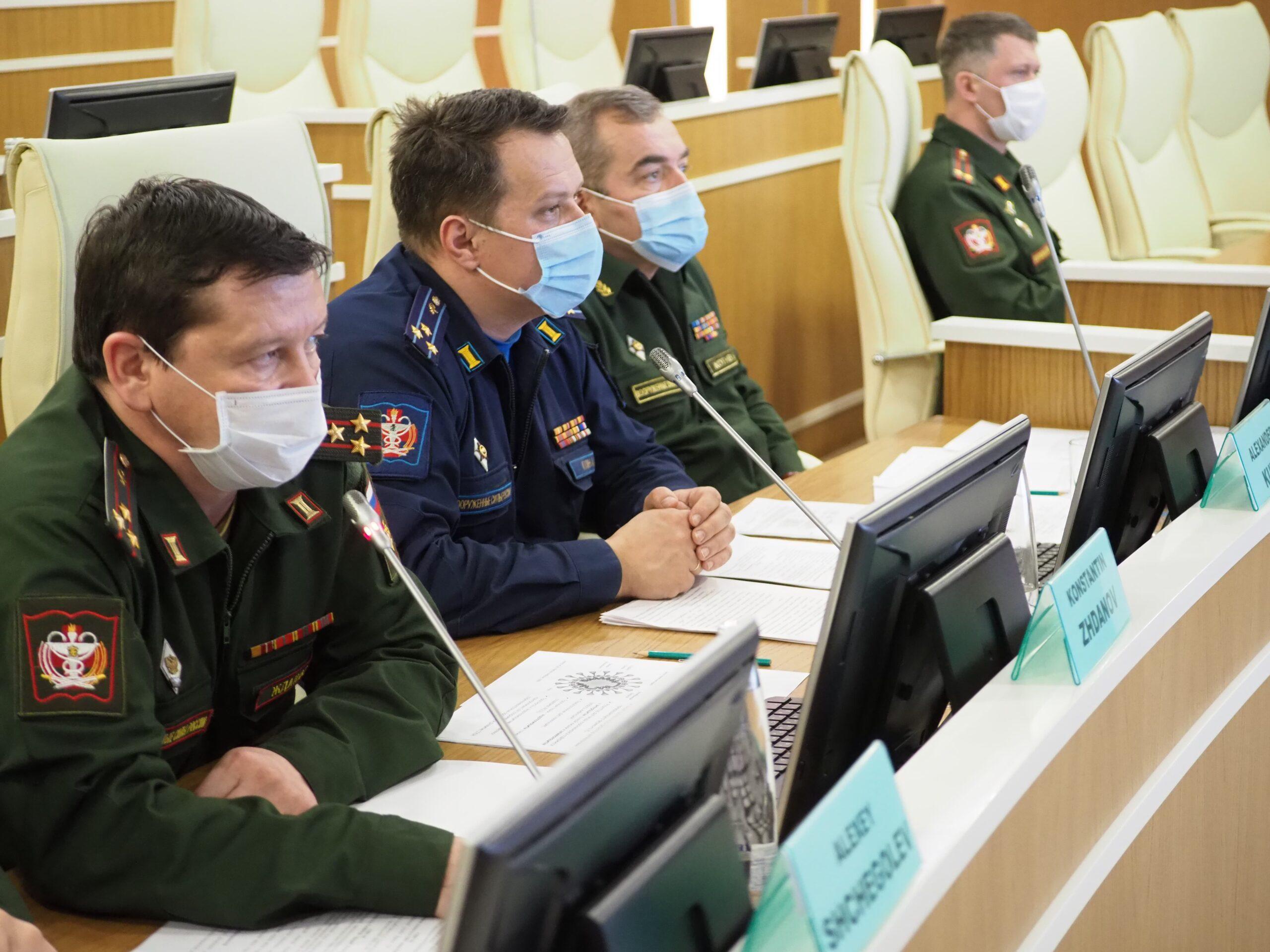 В Военно-медицинской академии прошел телемост с коллегами из Республики Вьетнам, посвященный вопросам борьбы с коронавирусной инфекцией