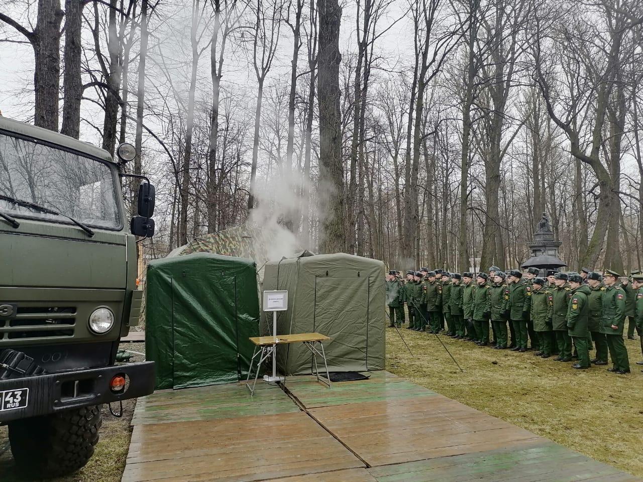 Видео: Организация работы сортировочной площадки Военно-медицинской Академии имени С.М. Кирова для приема инфекционных больных