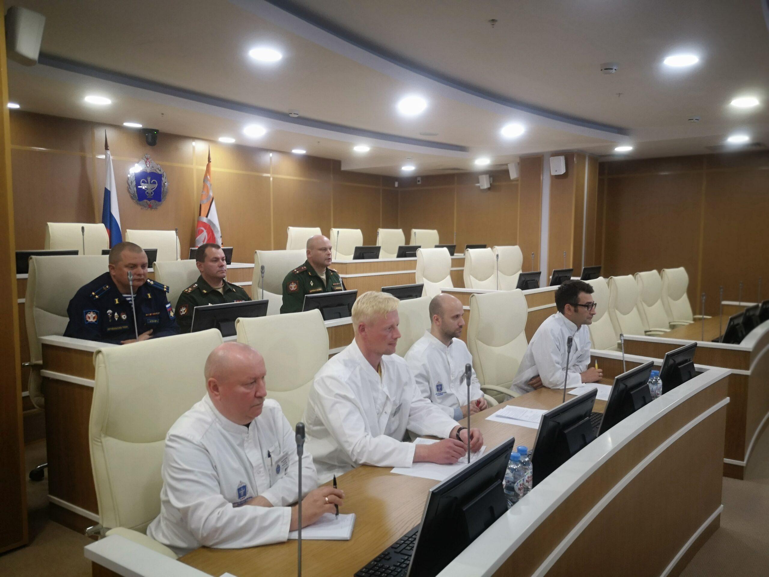 В Военно-медицинской академии проведена 1000-я телемедицинская консультация в этом году