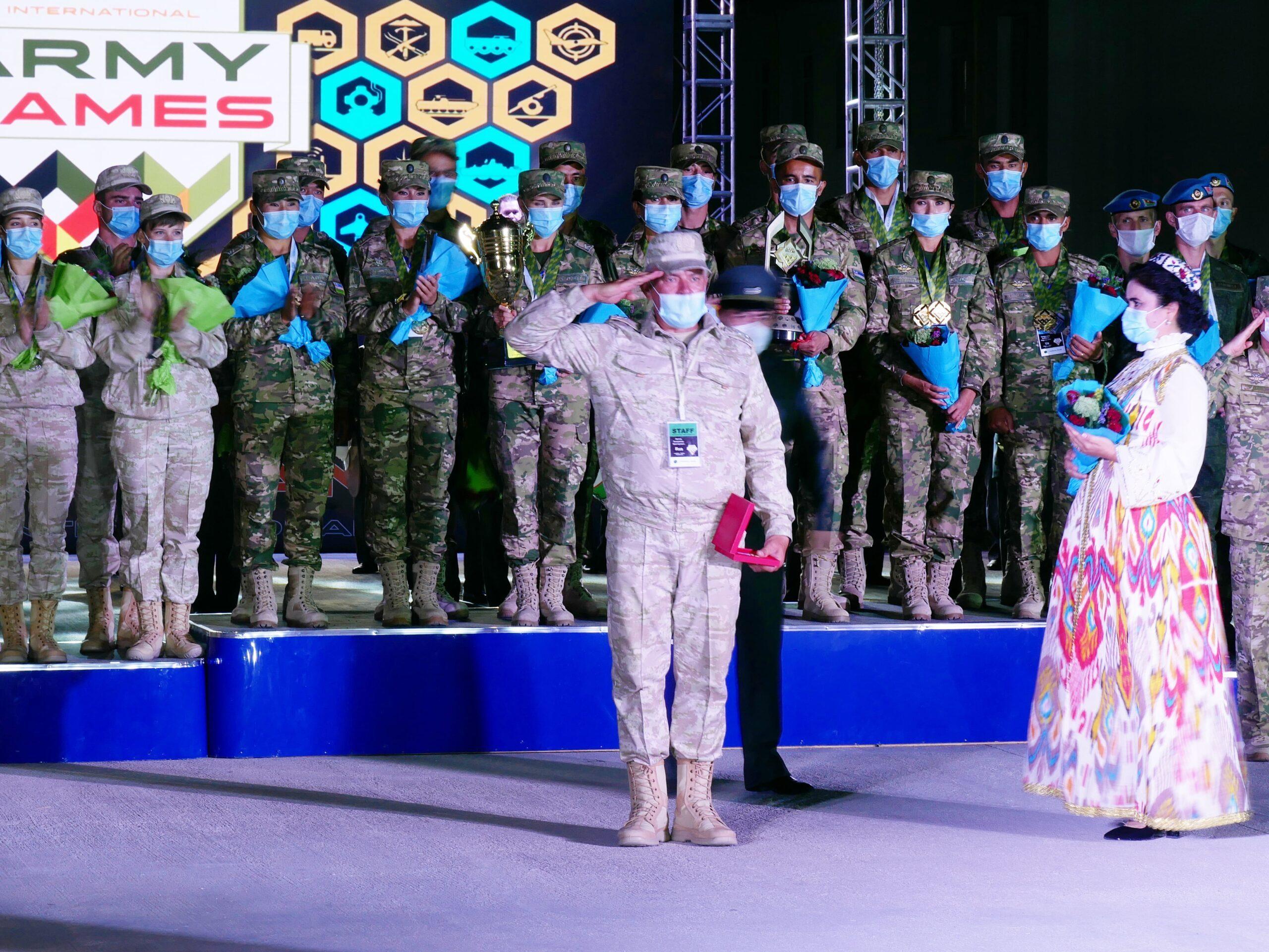 Спасибо Узбекистан! На высокогорном военном полигоне Фориш  завершилась «Военно-медицинская эстафета» в рамках Международных игр «Арми-2020»