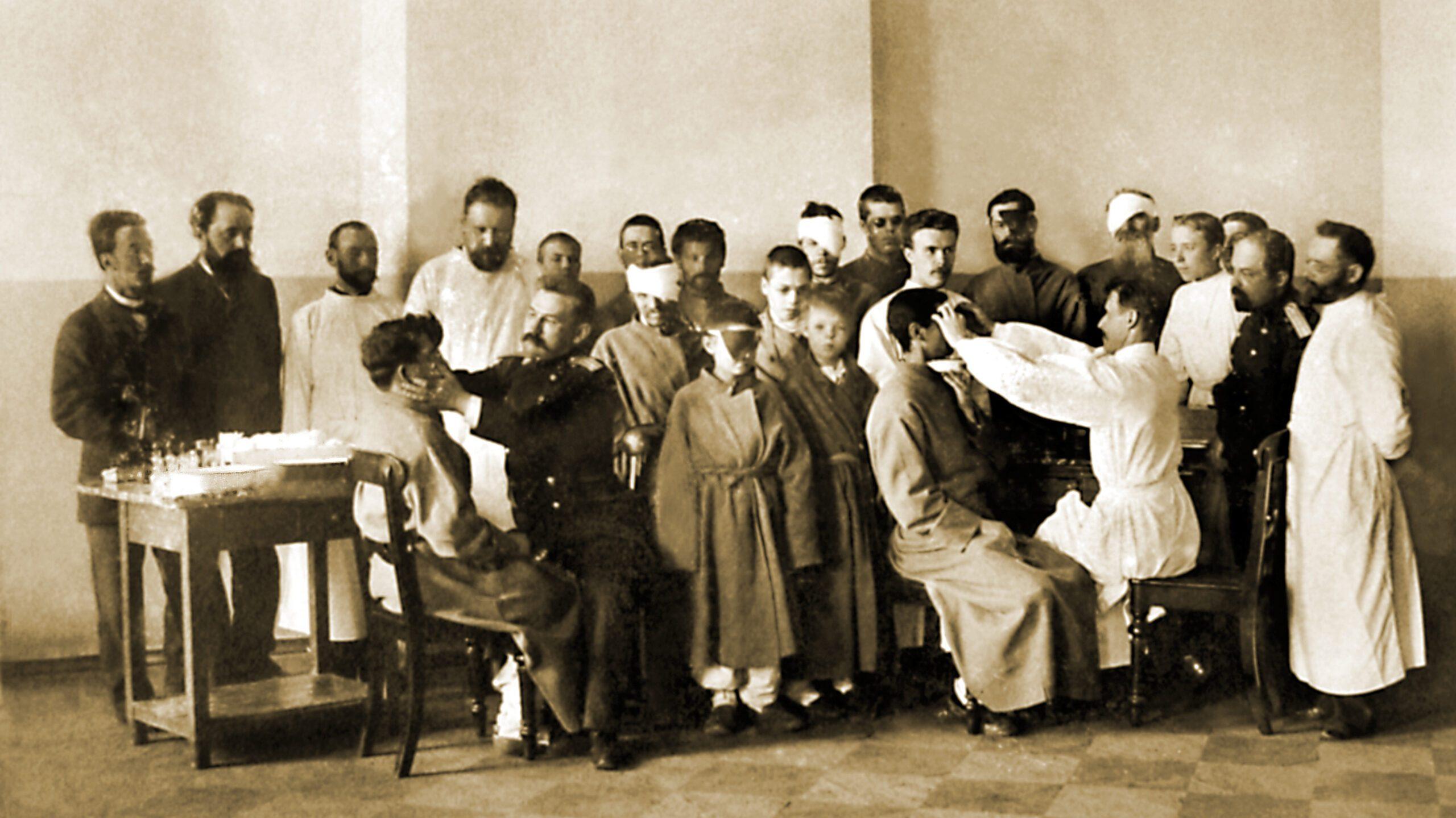 160 лет назад была открыта глазная клиника