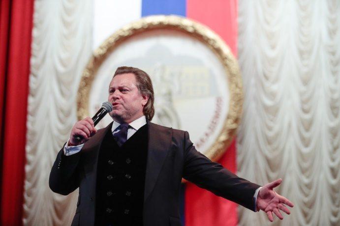 В клубе академии состоялся концерт Василия Герелло
