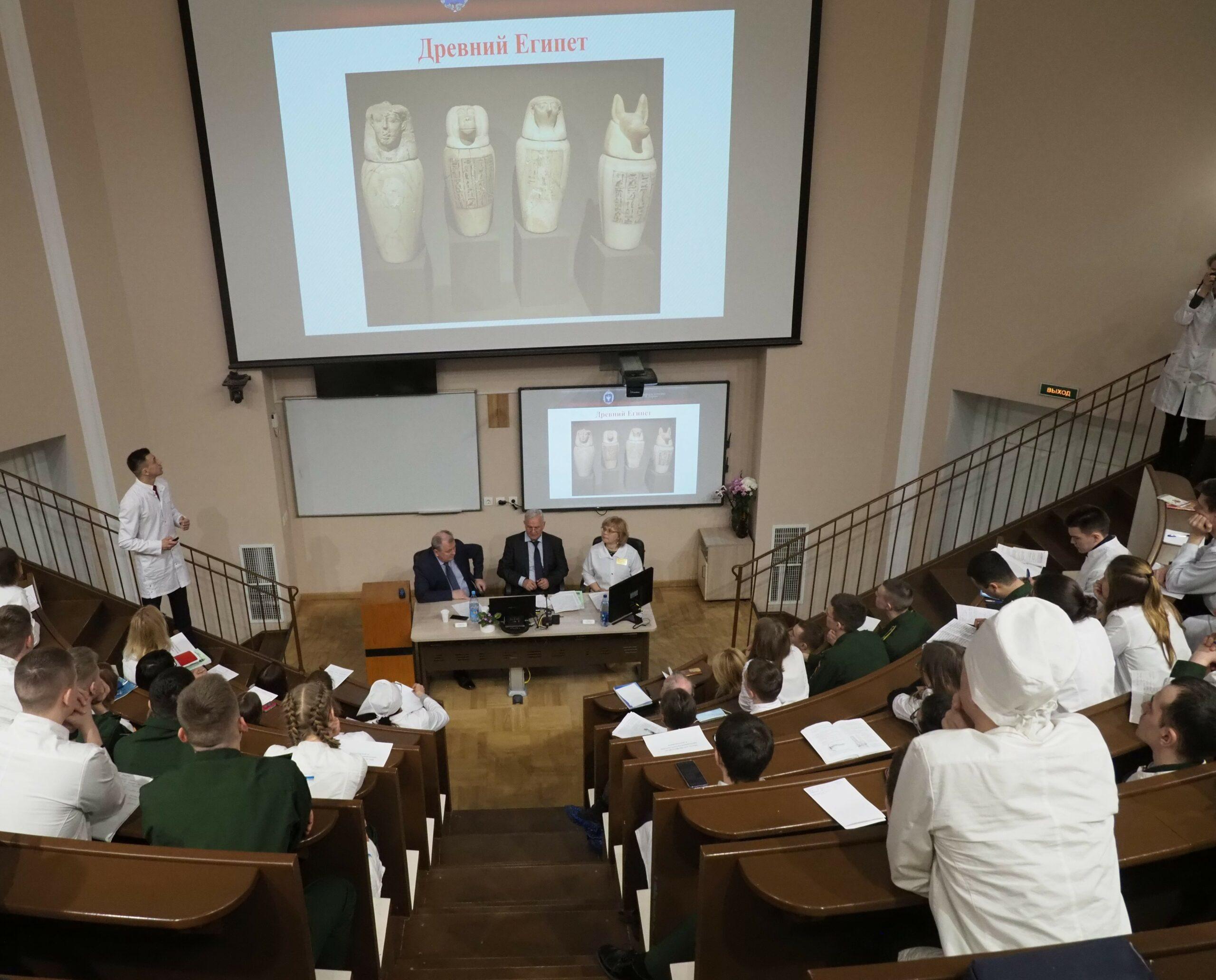 В Военно-медицинской академии начинают работать секции военного научного общества курсантов и студентов