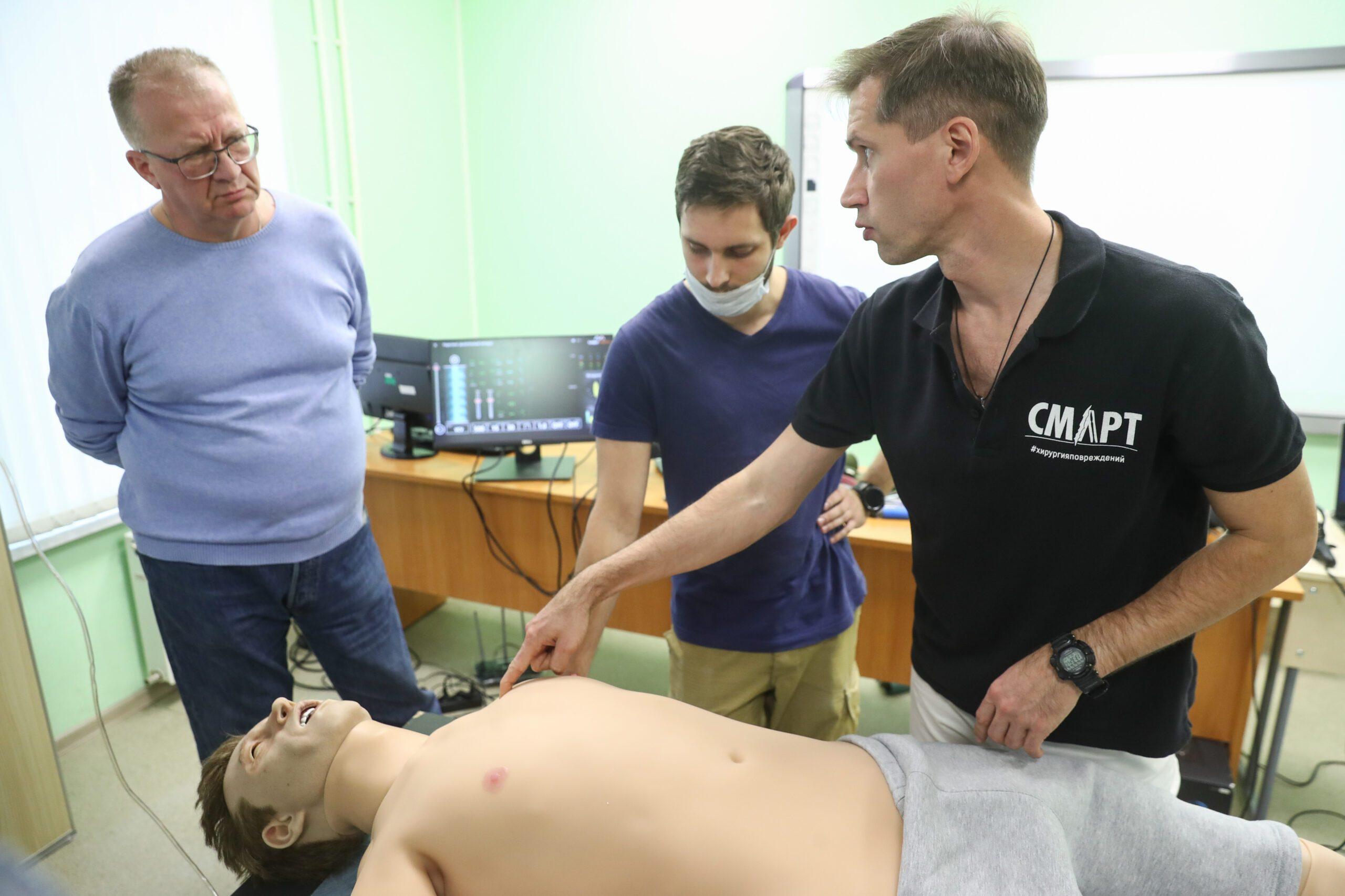 В Военно-медицинской академии стартовала неделя военно-полевой хирургии